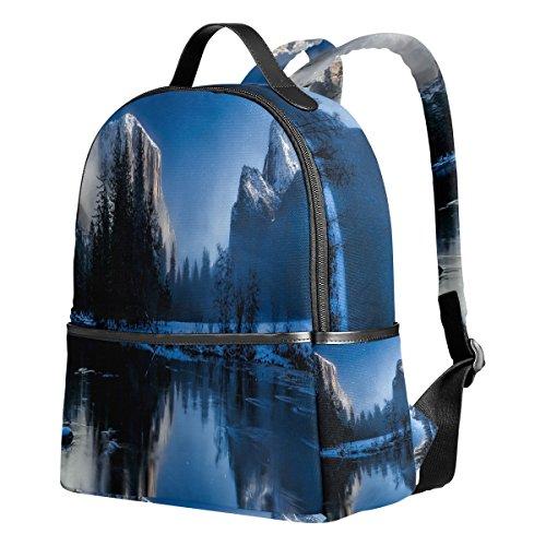 Ahomy Schulrucksack, Yellowstone National Park Wyoming Landschaft, Büchertasche, Reisen, großer lässiger Rucksack, Tagesrucksack für Teenager, Mädchen und Jungen