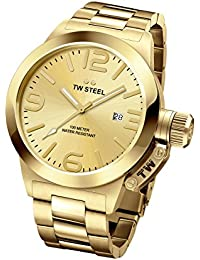 Tw Steel CB101 - Reloj de pulsera para hombre, oro