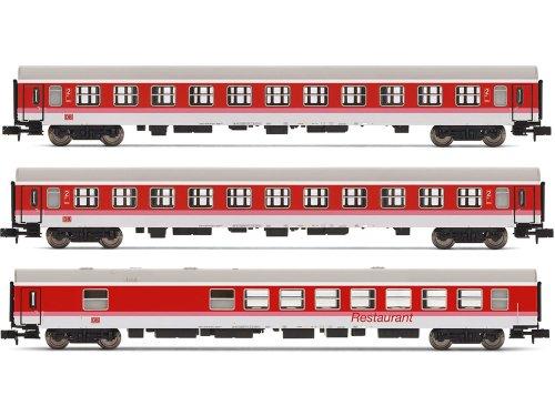 Preisvergleich Produktbild Arnold HN4145 - Wagen-Set InterCity der Deutsche Bahn