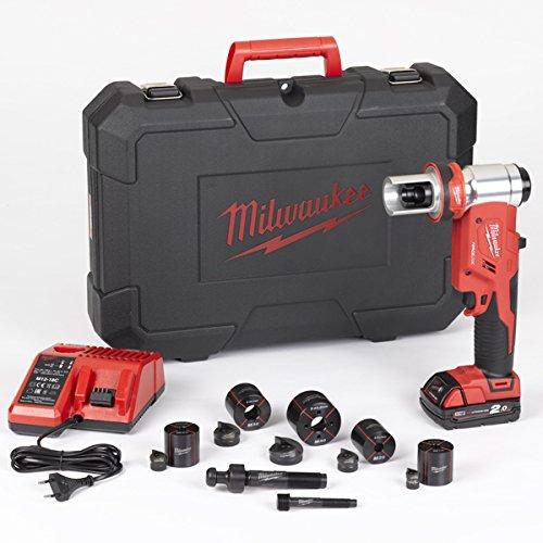 Milwaukee m18hkp-201ca M18Hydraulische Knockout Punch mit Punch & Die Kit (1x 2.0Ah Batterien, Ladegerät und BMC) NEU -