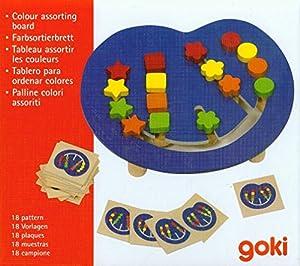 Goki - Juego ordena los colores, 23 x 20 cm (Gollnest & Kiesel KG G1063/58866)