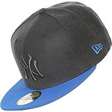 New Era 5950 NY Yankees Pop Tonal Graphite/SS Blue Baseball Cap