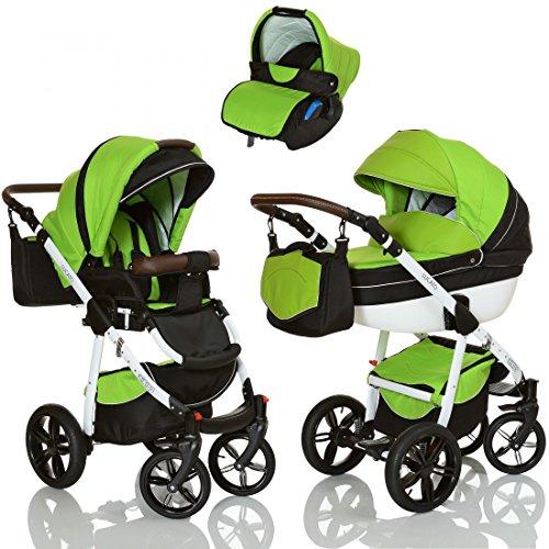 LCP Kids 3 in 1 Kombi Kinderwagen