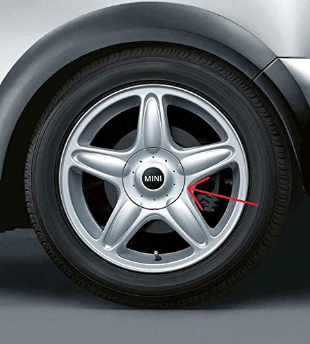 Mini echt Silber Hub Gap für 40,6cm 5-Sterne-Blaster R103Alufelgen 36136771001 -