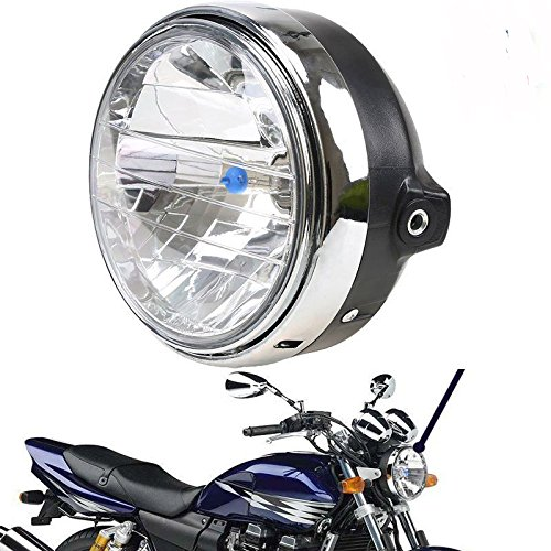 GZYF Motorrad Lampe Scheinwerfer Hauptscheinwerfer Frontscheinwerfer f¨¹r Honda Ansaugstutzen CB400/CB500/CB1300/Hornet 250/Hornet 600/Hornet 900/VTEC/VTR 250 ¡