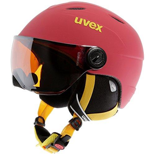 Uvex uvex junior visor pro red mat - 54