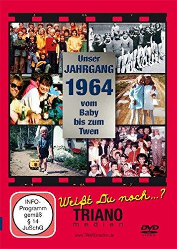 Unser Jahrgang 1964-Vom Baby bis zum Twen: zum 54. Geburtstag