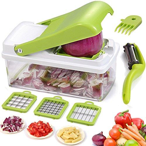 Foto de Cortador de verduras inteligente, Cortador de verduras de frutas Dicer