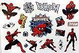 Tattoos SHIHAN-'Spiderman' Tattoos Film Superhelden Union Kinder Flasche Tätowierung Sticker Wasserfest Entfernbar Tatoo Für Kinder