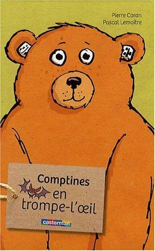 Comptines en trompe l'oeil par Pierre Coran, Pascal Lemaître