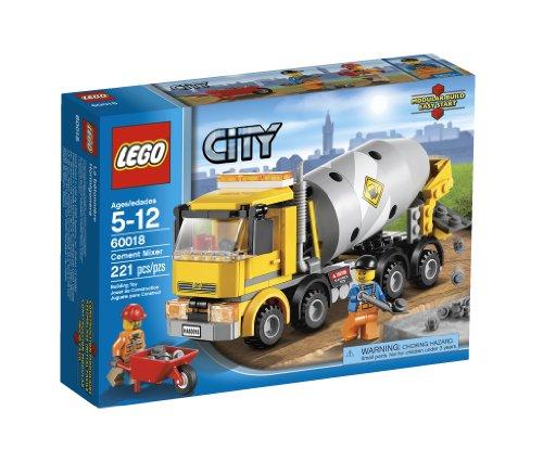 Preisvergleich Produktbild LEGO City Cement Mixer 60018