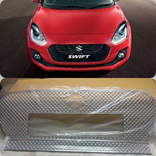 SDR Premium Quality Car Chrome Front Grill For - Maruti Suzuki Swift 2018  available at amazon for Rs.2799