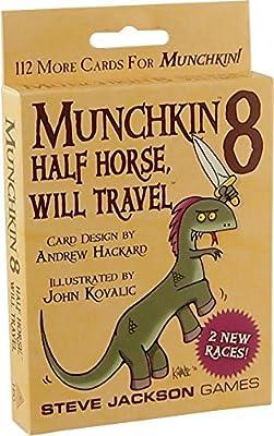 Munchkin - 332183 - Jeu De Cartes - 8 Half Horse, Will Travel