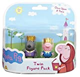 Peppa Pig Once Upon A Time Doppia Figura Pack- Prince George & Prince Danny (Inviato da UK)