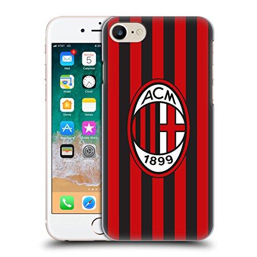 Head Case Designs Ufficiale AC Milan in Casa 2018/19 Kit Cresta Cover Retro Rigida per iPhone 7 / iPhone 8