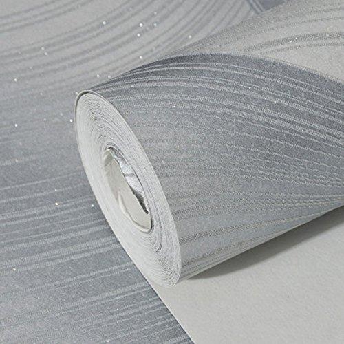 CNFIP 3D Tapete / Stereo Tapete / Gewellten Streifen Tapete / Wohnzimmer...