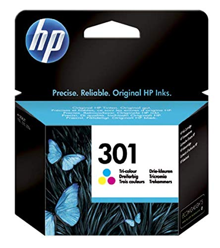 HP CH562EE Cartuccia 301 Getto D'Inchiostro, Volume 3 ml, Tricromia