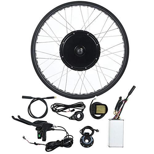 "Caredy kit elektrofahrrad ebike, Ebike-Umrüstkit, 26\""72V 3000W E-Bike-Brushless-Motor-Controller LCD-Anzeigefeld Speed Shifter(drehendes Schwungrad)"