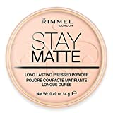 Rimmel London Stay Matte Puder Pink Blossom 002, 14 g