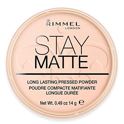 Rimmel London Stay Matte Puder Pink Blossom 002, 14 g