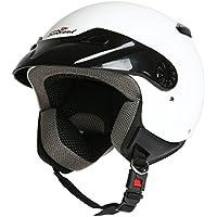 Rodeo Drive - Casco para moto, modelo Easy, color blanco, talla XS