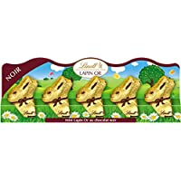 Lindt Barrette Mini Lapins Noir 5 x 10 g - Lot de 3
