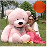 grand nounours rose 155cm peluche g ante norme amazon. Black Bedroom Furniture Sets. Home Design Ideas