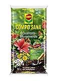 COMPO SANA Qualitaets Blumenerde 70l - Universalblumenerde mit einzigartiger Zusammensetzung für optimales Pflanzenwachstum