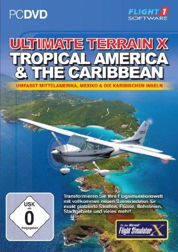 Flight Simulator X - Ultimate Terrain X: Tropical America & The Caribbean (Add-On) [Edizione: Germania]