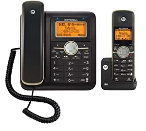 Motorola DECT 6.0 Corded Base Phone with Cordless Handset, Digital Answering System and Bluetooth L512CBT