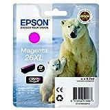 Epson original - Epson Expression Premium XP-520 (26XL/C13T26334022) - Tintenpatrone magenta - 700 Seiten - 9,7ml