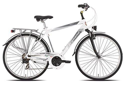 Legnano vélo 420Amalfi Gent 21V taille 56blanche (City)/Bicycle 420Amalfi Gent 21S Size 56white (City)