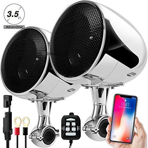 Qiyan 300 w Moto Haut-Parleur Bluetooth étanche Moto Haut-parleurs stéréo système Mp3 amplifer Son Moto Haut-parleurs étanche à la Moto Audio