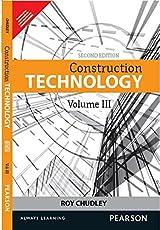Construction Technology - Volume 3, 2e