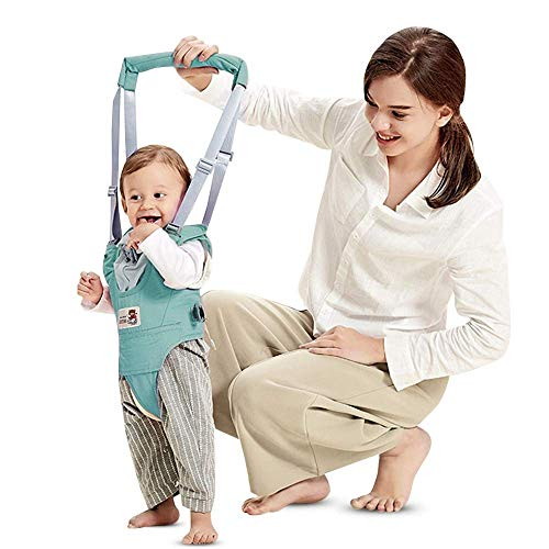 *Lauflernhilfe Gehhilfe für Baby Stehen Gehen Lernen Helfer Walker für Kinder 8-24 Monthe (Grün)*