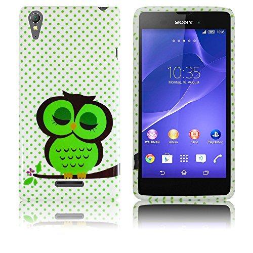 Sony Xperia Style T3 silicio CUTE OWL case Cabina...