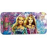 Shree Krishna Handicrafts And Gallery Barbie Metal Pencil Box (Set Of 6)