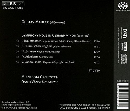 Zoom IMG-1 sinfonie 5 cis moll