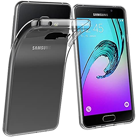Samsung Galaxy A3 2016 A310 Case, Menggood 2016 Nuovo TPU Soft Case clear crystal Case Protector Back cover full Protection Transparent coverage protective for Samsung Galaxy A3 2016 A310 - Anti Slip Scratch Resistant Waterproof Dotted buffer design