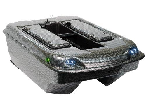 Carp Madness XXL Futterboot 2,4 Ghz Carbon Baitboat mit Echolot RF15e
