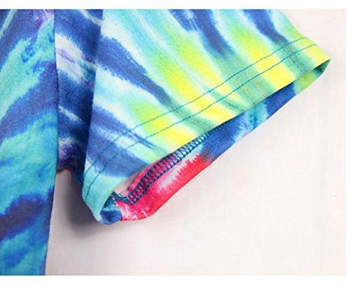 Pretty321 Men Women 3D Colorful Swirl Painting Creative Graffiti Unisex T-Shirts Amazon