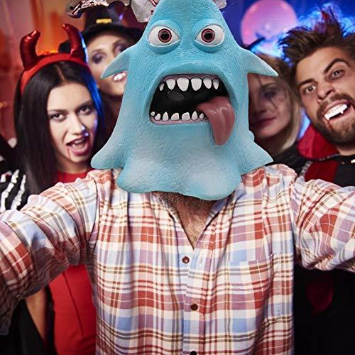 Rstant Halloween Gesichtsmaske Horror Maske Krakenmaske Halloween-Maske Niedliche Lustige Kraken Maske Kostüm Cosplay Zubehör Für Festivals, Outdoor, SPO - Niedliche Und Lustige Kostüm