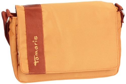 Tamaris MARA Small Horizontal Crossover A611-14-82-290-606, Damen Umhängetaschen 23x15x8 cm (B x H x T) Orange (orange 606)