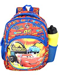 a6ebac09c0 Disney School Bag for Boys 03+ Years Pixar Car Nitrode Stree X 15 (L