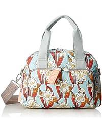 Jolly Letters Handbag Shz, Womens Bag, White (Offwhite), 12x22x28 cm (B x H T) Oilily