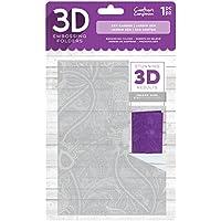 Crafter 's Companion 3D-Prägung folder-zen Garten, 12,7x 17,8cm