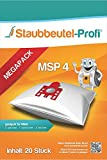 20 Staubsaugerbeutel geeignet für Miele S8 - Serie, S 8340 Ecoline, S8 Parkett & Co, S 5000-S 5999, S5 EcoComfort, S5 EcoLIne, S5 Premium, S5 Vitality /88 von Staubbeutel-Profi® Made in Germany