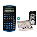 Texas Instruments TI-30 ECO RS - NEUES MODELL + Premium Geometrieset