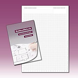Professional Sketch Drawing Pad, Planning Pad, Graph Paper Pad