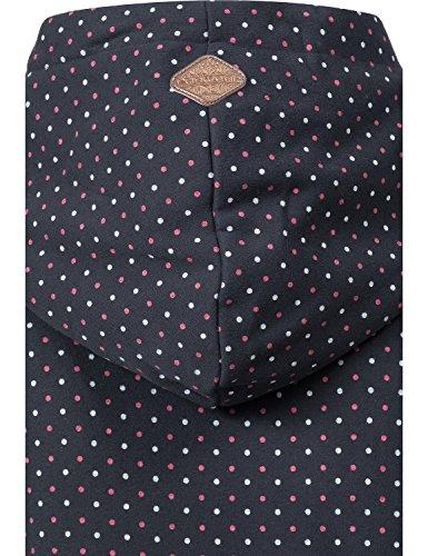 Ragwear Sweat-Shirt - Femme Dots Navy